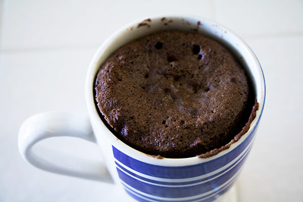 Coconut Cake Recipe Keto: Coconut Flour Chocolate Keto Mug Cake