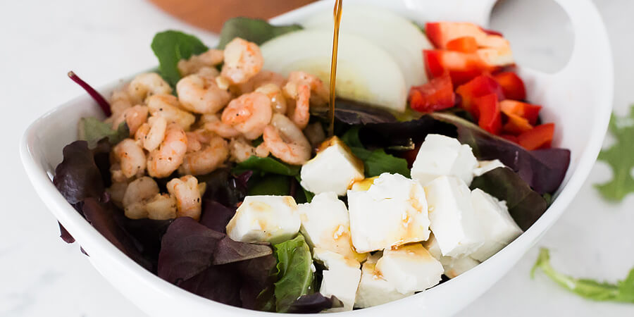 Maple Shrimp Salad