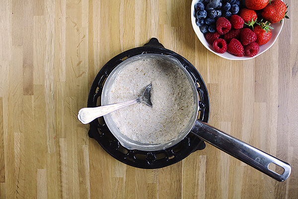 Berry Coconut Oatmeal
