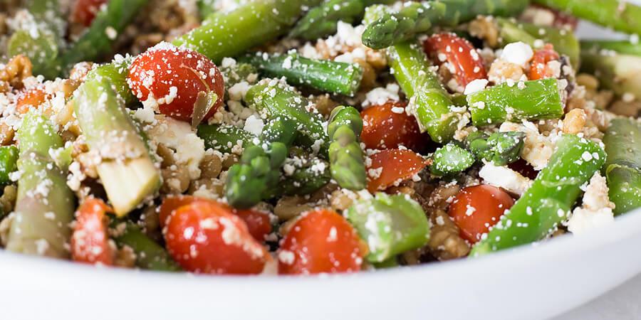 Maple Asparagus Salad