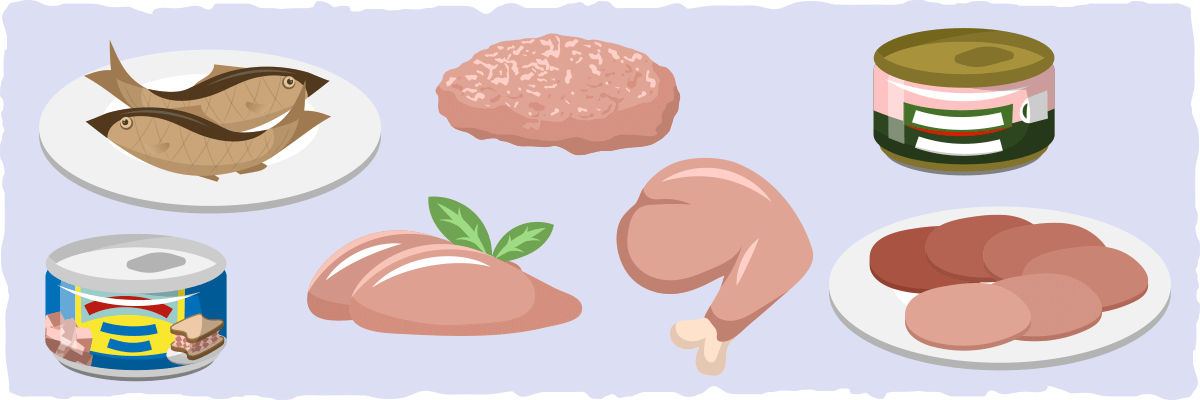 High-protein, Lower Fat Zero Carb Foods for Increasing Protein Intake