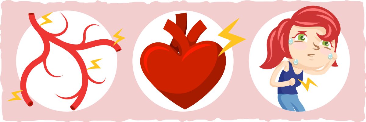 can you havechest pain on keto diet
