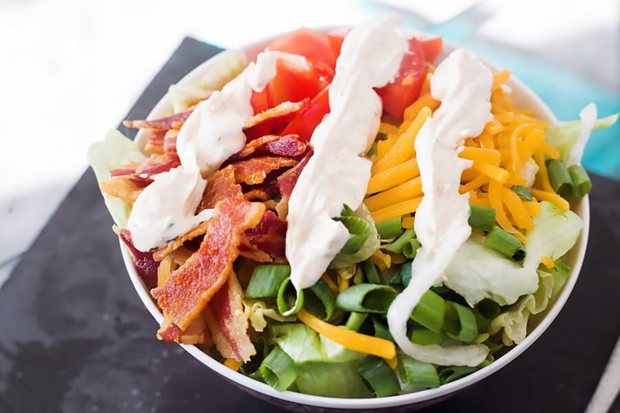 Keto BLT Salad