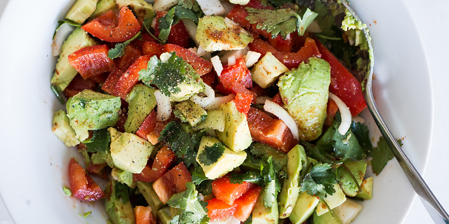 Spicy Avocado Salad | Ruled Me