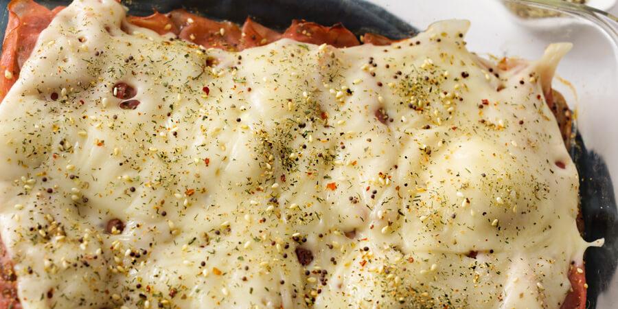 Keto Sub Sandwich Casserole