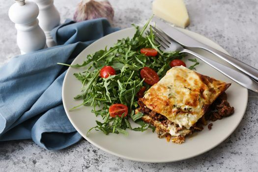Lasagna with Keto Noodles
