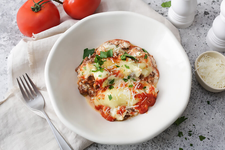 Instant Pot No-Noodle Keto Lasagna