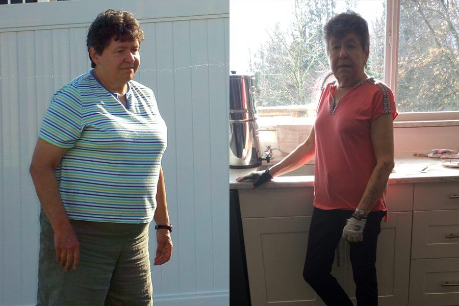 Barbara Is Over 70 and Lost Over 50 Pounds