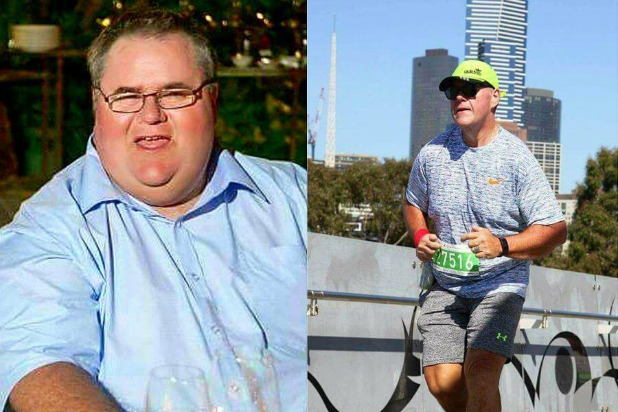 Darren Lost 40% of His Body Weight in 18 Months