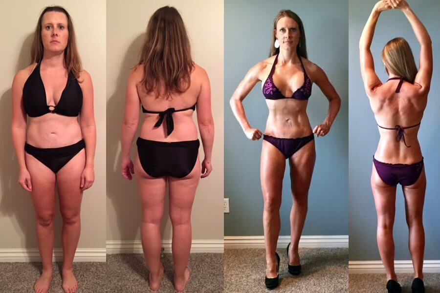 Holly Lost 14% Body Fat and 22 Lbs in 6 Months