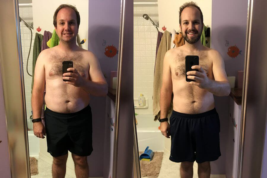 Jeff Lost 30 Pounds in 3 Months on Keto