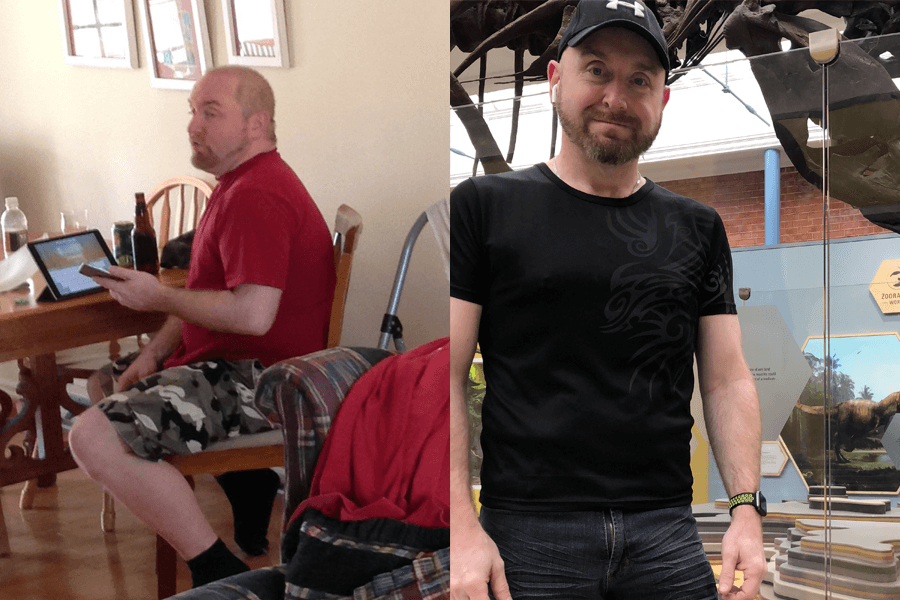 Joel Lost 55 Lbs and Gained His Health Back
