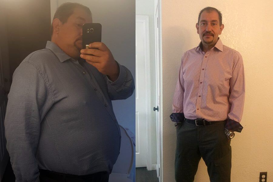 Joseph Lost 110 Pounds in 7 Months
