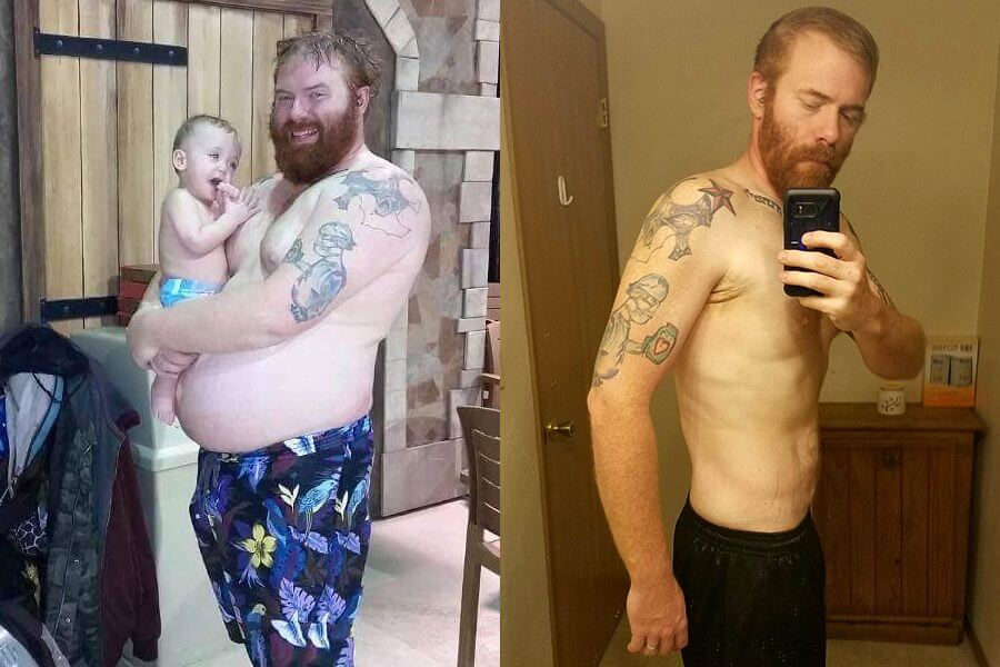 Justin is Down Over 100 Pounds Using Keto