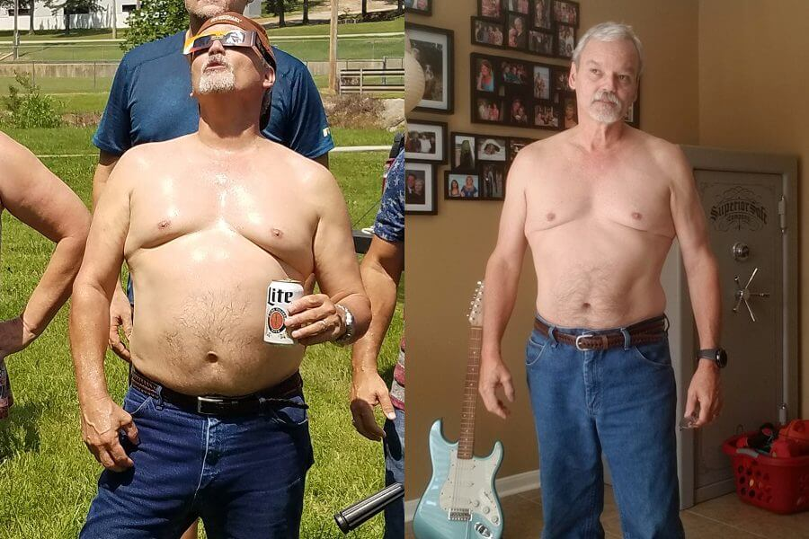 Michael Lowered His A1C and Lost 30 Lbs