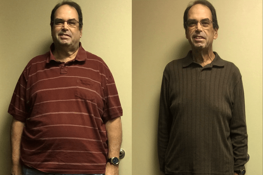Ron Lost Over 160 Pounds in a Year on Keto!
