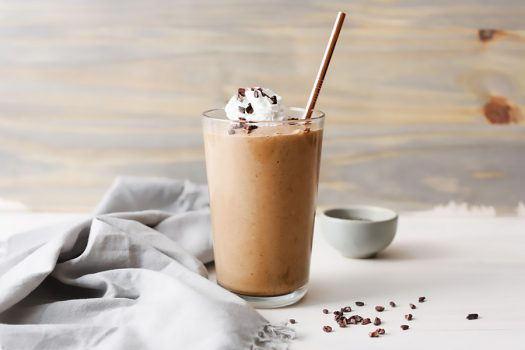 Keto Creamy Chocolate Smoothie