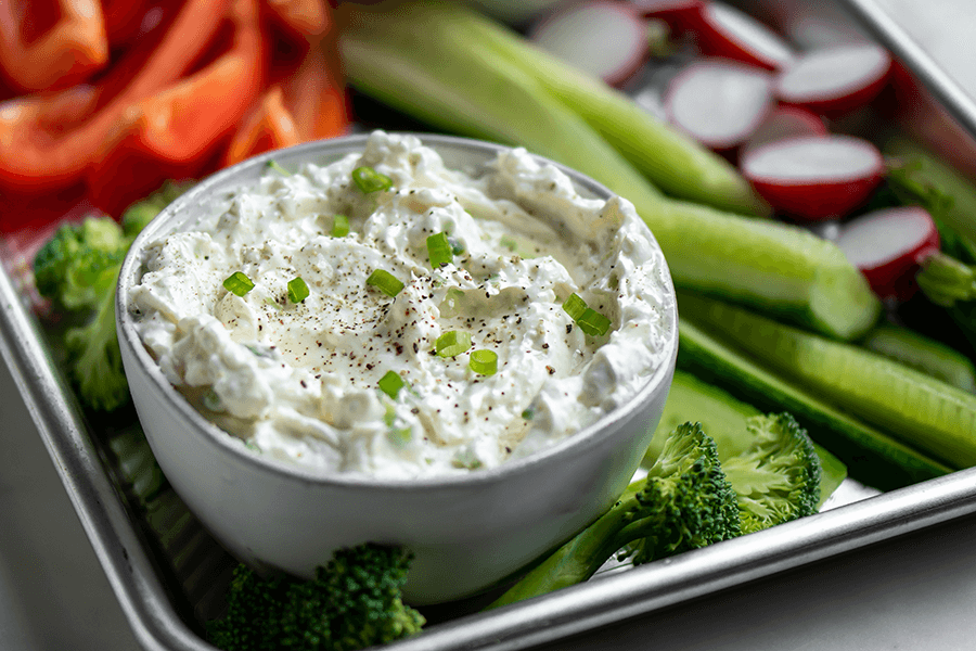 Creamy Keto Green Onion Dip