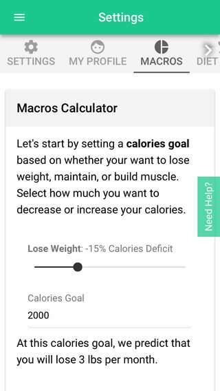 "select the ""Macros"" option"