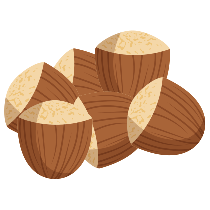 Carbs in Hazelnuts