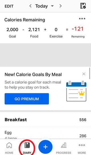 How to Track Net Carbs Using MyFitnessPal