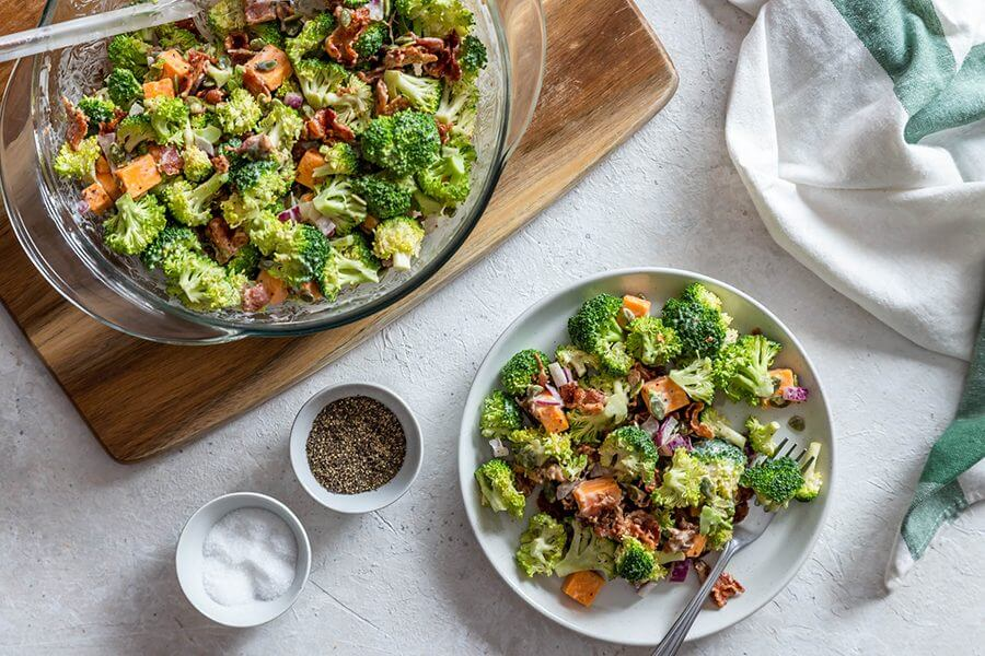 Tangy Keto Broccoli Salad