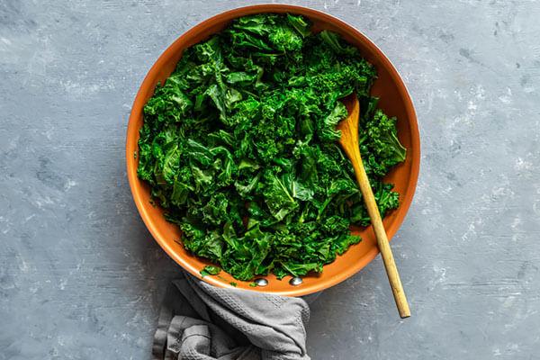 Keto Warm Kale Salad