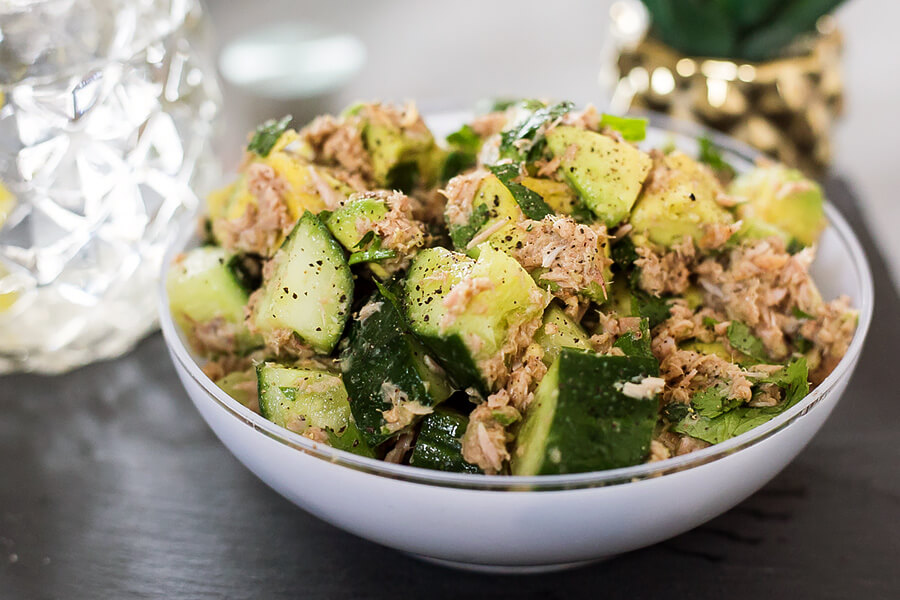 Summer Tuna Avocado Salad