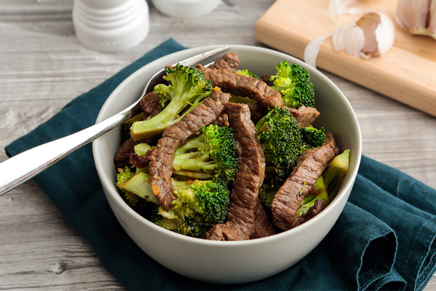 Keto Beef and Broccoli