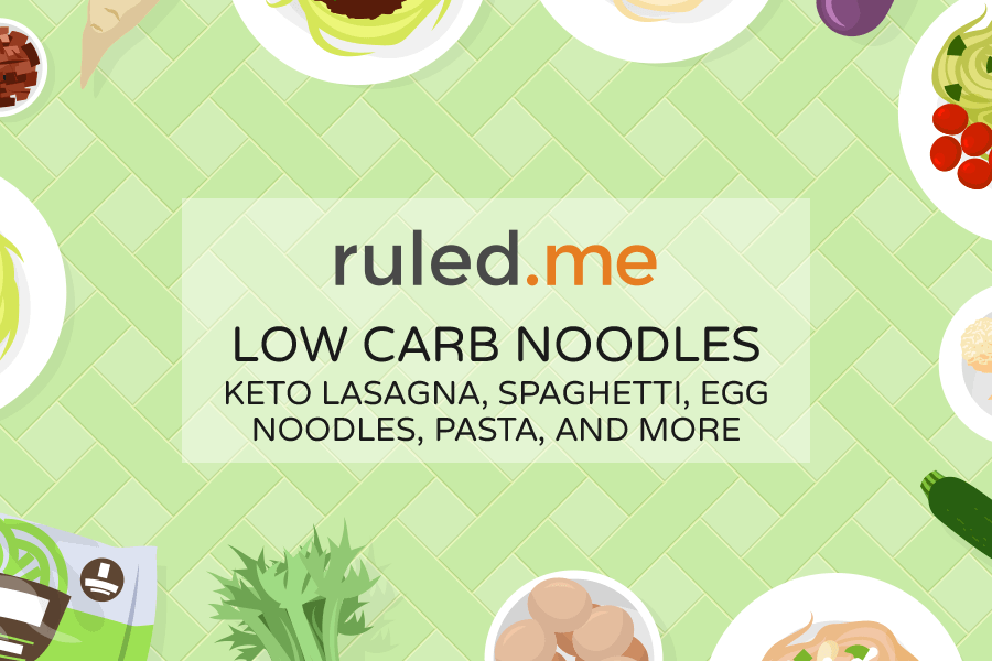Low Carb Noodles: Keto Pasta Alternatives