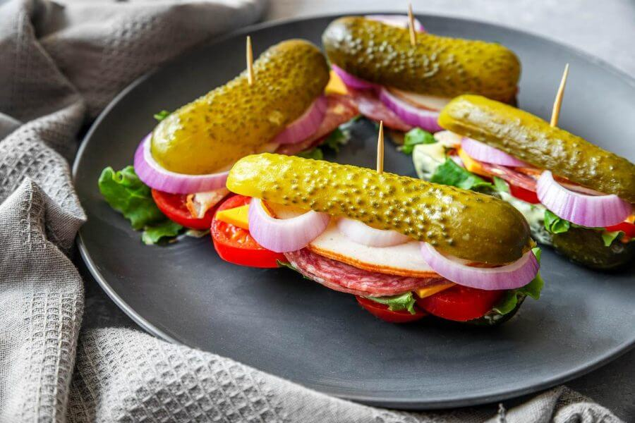 Pickle Sandwiches Featured