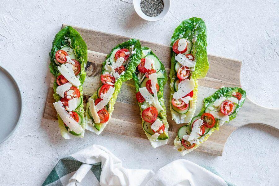 Keto Salad Sandwiches