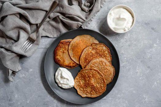 Pork Rind Pancakes Featured