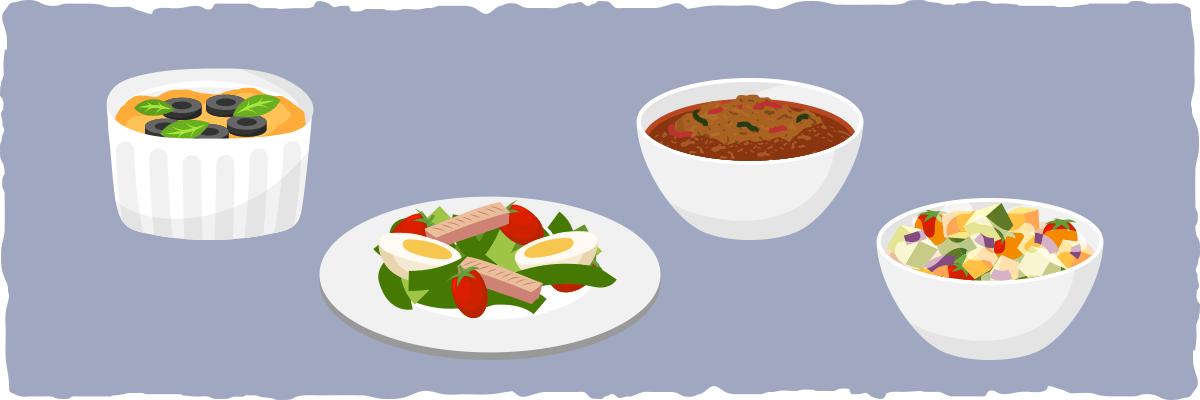Italian Low-carb Lunch Menu