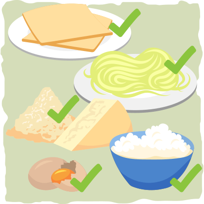Lasagna → Keto pasta sheets, low-carb vegetables, or go noodle-free