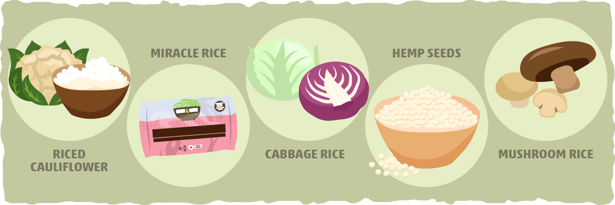 5 Best Low Carb Rice Substitutes for Keto