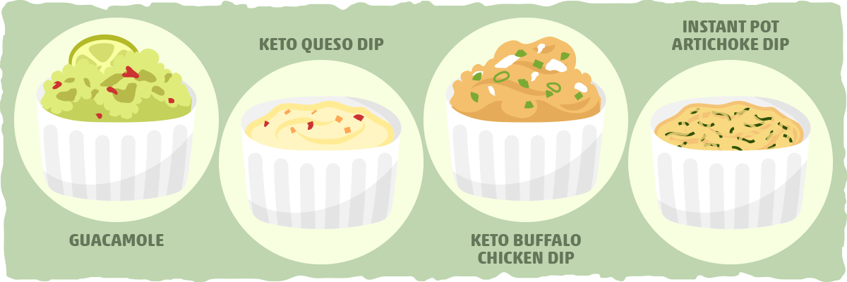 Keto Dips for Your Low Carb Chips