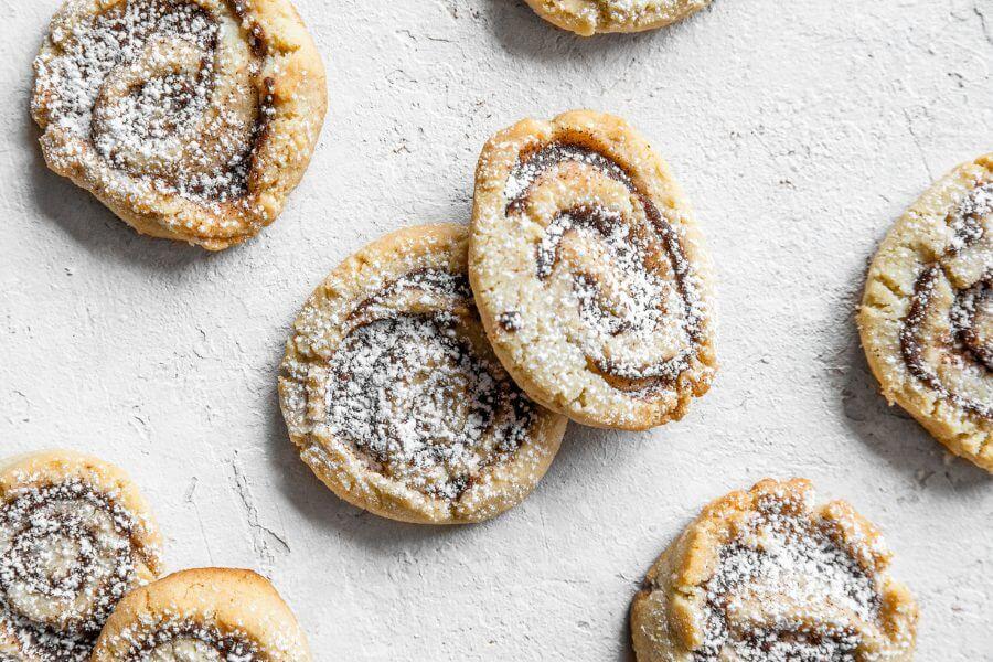 Keto Cinnamon Shortbread Cookies