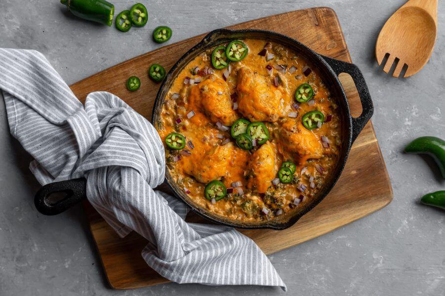 Jalapeno Chicken Skillet Meal